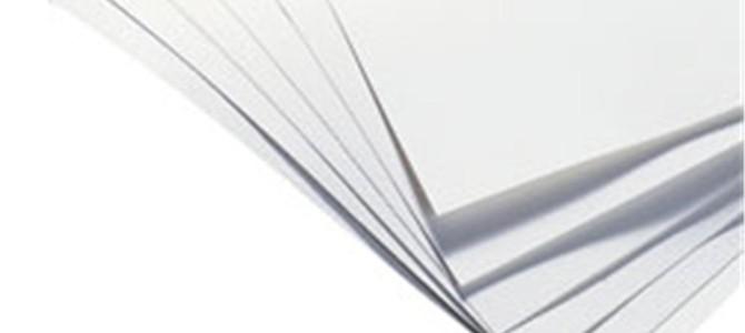 Quais os procedimentos corretos para trocar o papel sulfite da impressora?